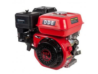 Двигатель бензиновый четырехтактный DDE 168F-Q19 (фильтр-картридж, датчик уровня масла)