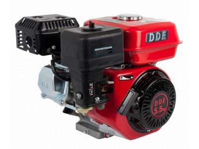 Двигатель бензиновый четырехтактный DDE 168F-S20 (фильтр-картридж, датчик уровня масла)