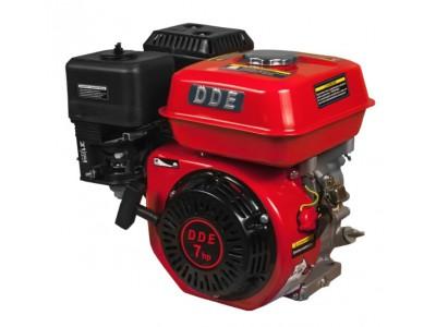 Двигатель бензиновый четырехтактный DDE 170F-S20 (фильтр-картридж, датчик уровня масла)