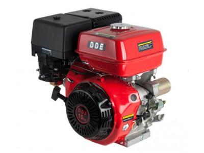 Двигатель бензиновый 4-хтактный DDE 188F-S25GE (фильтр-картридж, датчик уровня масла, генерирующая катушка 80W)