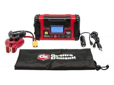 Пусковое устройство QUATTRO ELEMENTI Energia 2701 Li  (USB, LCD - дисплей, фонарь, сумка)
