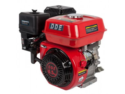Двигатель бензиновый четырехтактный DDE 168FB-Q19 (фильтр-картридж, датчик уровня масла)