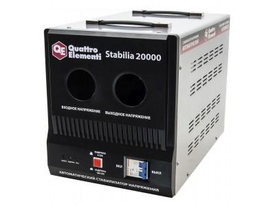 Стабилизатор напряжения QUATTRO ELEMENTI Stabilia 20000 (байпас)