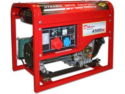 Генератор дизельный DDE DDG6000-3E трехфазный
