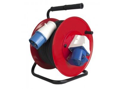 Удлинитель силовой УХз-4 30 (металл катушка)