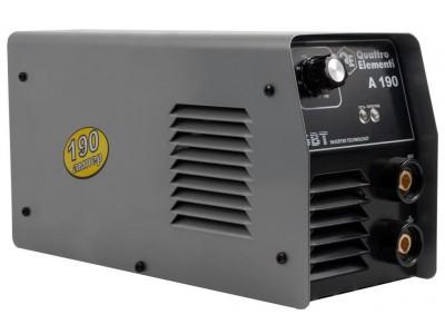 Аппарат электродной сварки, инвертор QUATTRO ELEMENTI  A 190 + LED Фонарь