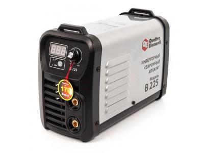Аппарат электродной сварки, инвертор QUATTRO ELEMENTI B 225 (Дисплей, TIG-Lift, КЕЙС)