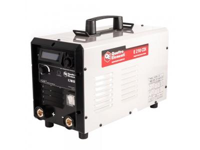 Аппарат электродной сварки, инвертор QUATTRO ELEMENTI E 210 (Дисплей, TIG-Lift)