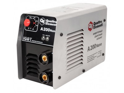 Аппарат электродной сварки, инвертор QUATTRO ELEMENTI  A 200 Nano