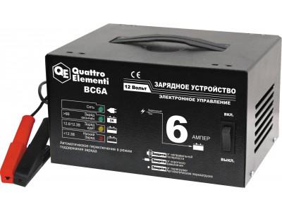 Зарядное устройство QUATTRO ELEMENTI BC 6A (автомат)