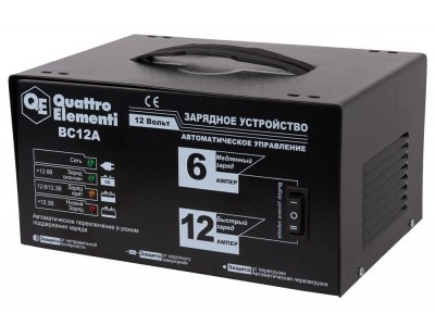 Зарядное устройство QUATTRO ELEMENTI BC12A (автомат)