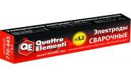 Электроды сварочные QUATTRO ELEMENTI рутиловые, 3,2 мм, 4,5 кг