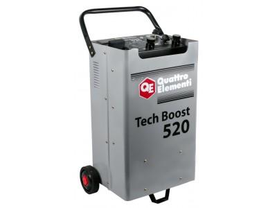 Пуско-зарядное устройство QUATTRO ELEMENTI Tech Boost 520 (таймер)