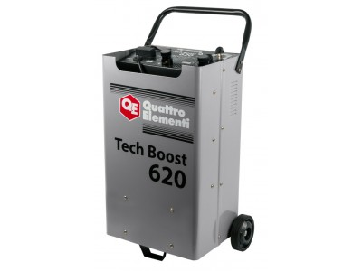 Пуско-зарядное устройство QUATTRO ELEMENTI Tech Boost 620 (таймер)