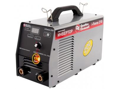 Аппарат электродной сварки, инвертор QUATTRO ELEMENTI i-FORCE 210 (Дисплей, TIG-Lift) ПРОФИ