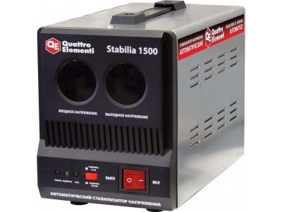 Стабилизатор напряжения QUATTRO ELEMENTI Stabilia 1500