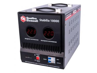 Стабилизатор напряжения QUATTRO ELEMENTI Stabilia 10000 (байпас)