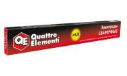 Электроды сварочные QUATTRO ELEMENTI рутиловые, 4,0 мм, 0,9 кг