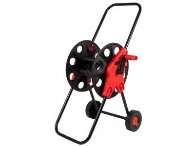 Катушка для садового шланга QUATTRO ELEMENTI большая с колесами (шланг 1/2 - до 60 м, 3/4 - 45м)