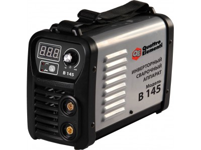 Аппарат электродной сварки, инвертор QUATTRO ELEMENTI B 145 (Дисплей, TIG-Lift, КЕЙС)