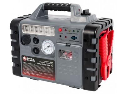 Пусковое устройство QUATTRO ELEMENTI Power Cube 4000 Air (с компрессором)