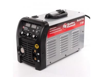 Аппарат полуавтомат. сварки, инвертор QUATTRO ELEMENTI Multi Pro 2100 (3 вида сварки MIG/TIG/MMA, дисплей)