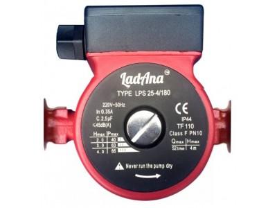 Циркуляционный насос c мокрым ротором LPS 25-4/180 LadAna
