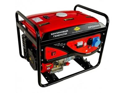 Генератор бензиновый DDE DPG6500